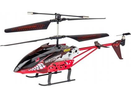 Metal Beast, středně velký 2 rotorový vrtulník, LED, funkce Boost, 100% RTF