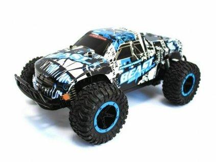 MonserTruck CHEETAH KING Beast 2WD 1:16, až 15 km/h, Lexan, tlumiče, oboustranný ovl., RTR
