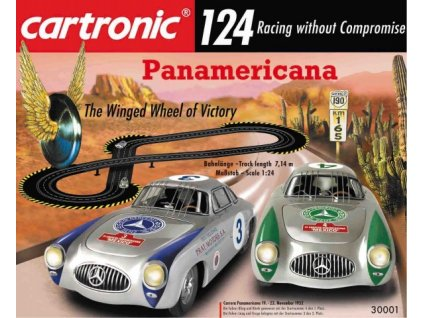 XXL Autodráha Cartronic Panamericana 7,14 m 1:24
