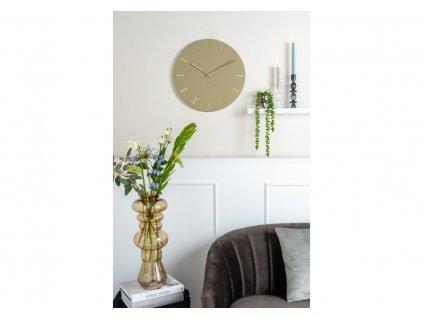 Designové nástěnné hodiny 5821OG Karlsson 30cm