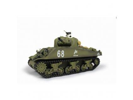 SHERMAN M4A3 BB+IR 2,4Ghz 1:16, zvuk, kouř, RTR