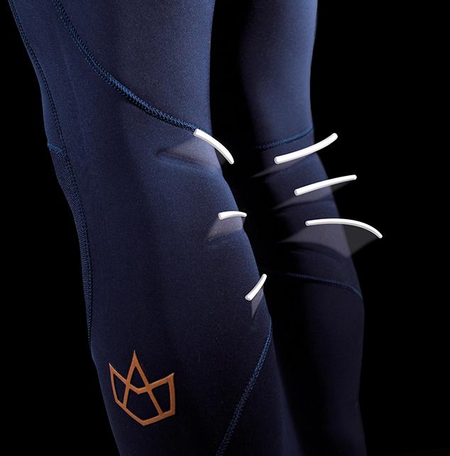 Back-knee-emboss