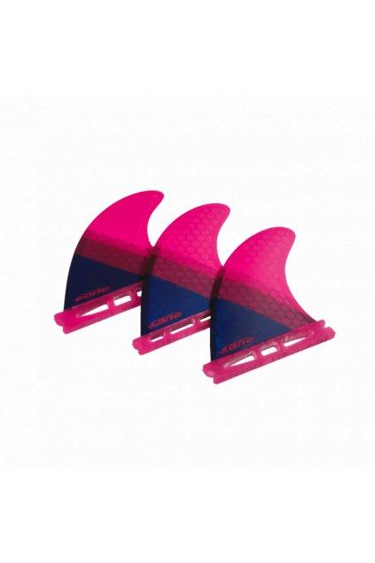 Accessories Fins FLOW XS 2018 RUBINE RED 650x650