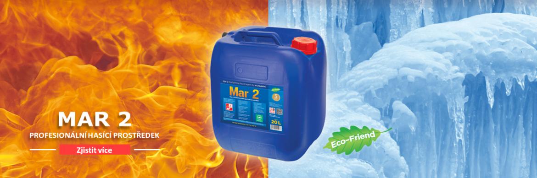Mar 1 je hasicí látka p. skupiny A a elektrický proud, pro profesionální použití.