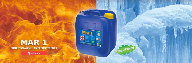 Mar 1 je hasicí látka p. skupiny A,B,C a F, pro profesionální použití.