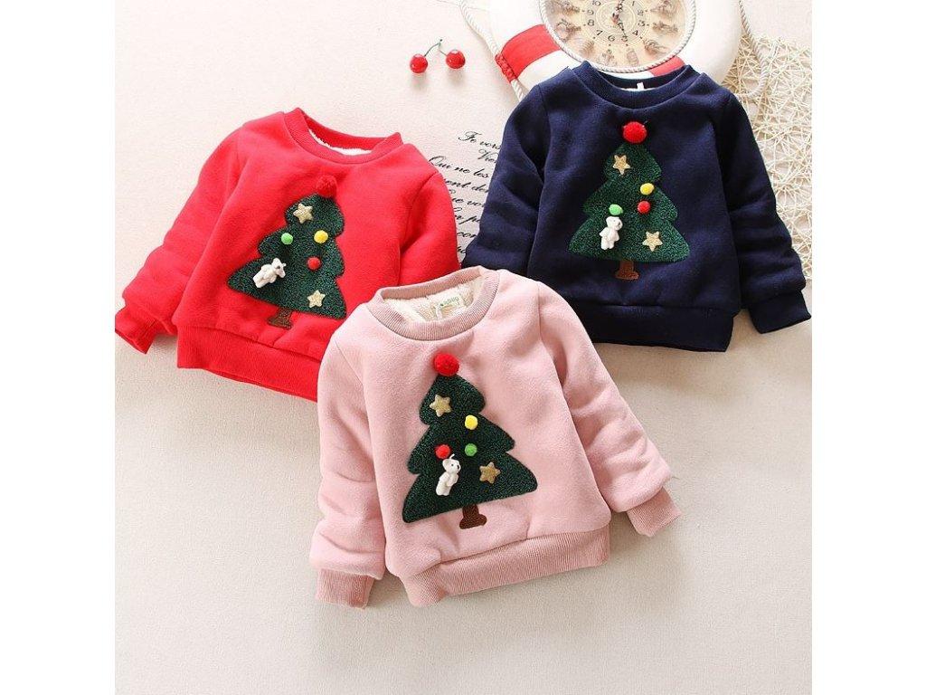 Dětské oblečení- hřejivý zimní svetr pro chlapce a dívky s Vánočním motivem  - VÝPRODEJ SKLADU 2765b04c04