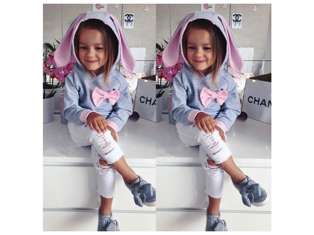 2dceada6276 Dětské oblečení- dívčí luxusní set mikina a kalhoty- VÝPRODEJ SKLADU ...