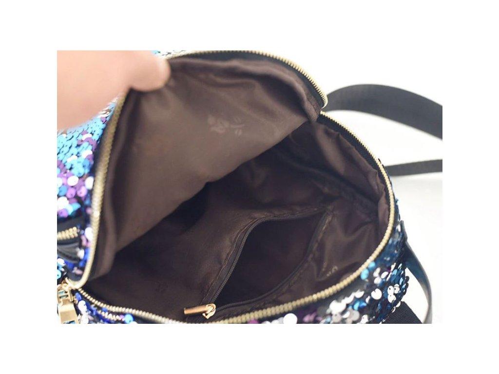 Luxusní batoh pro ženy a slečny s flitry- Vhodný jako dárek - FLARO.CZ 84624436fd