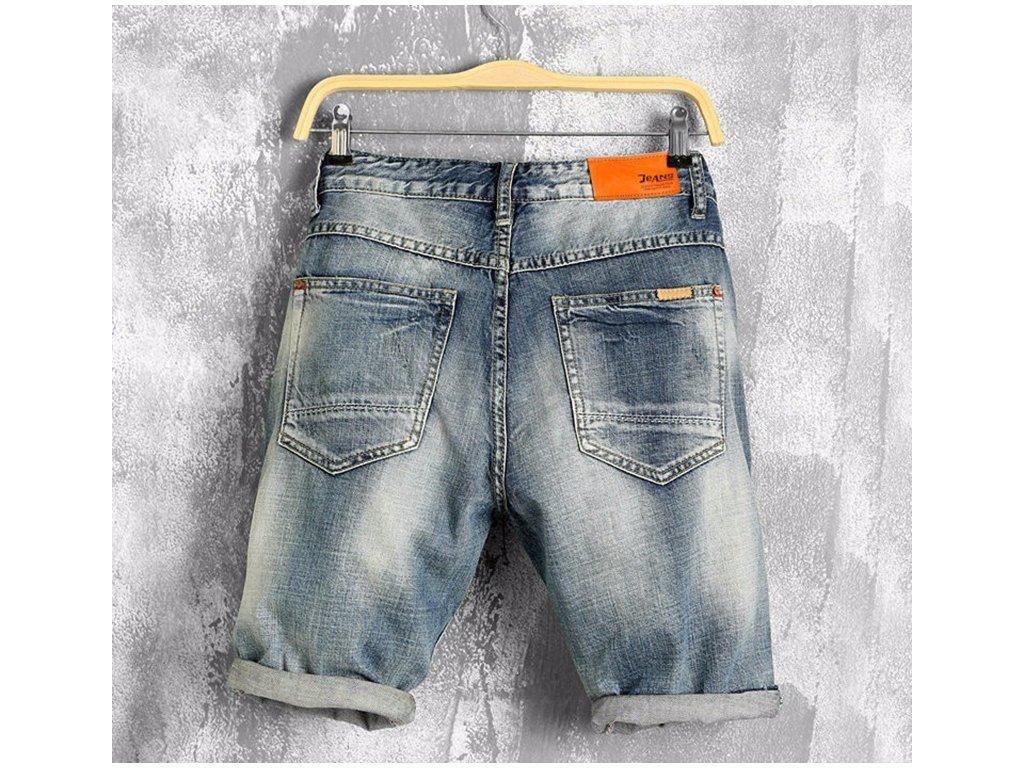 Pánské riflové džínové kraťasy e8aaab370a