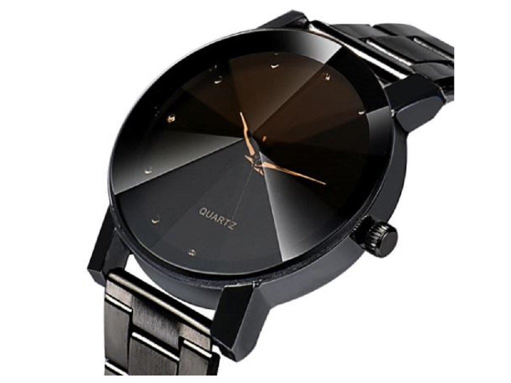 a3b40b63b12 ... Pánské náramkové hodinky na ruku s kovovým páskem - levný tip na dárek  pro muže