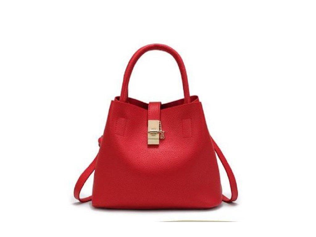 Stylová dámská kabelka taška do ruky červená černá a růžová barva na výběr 7fc4b8fc1b4