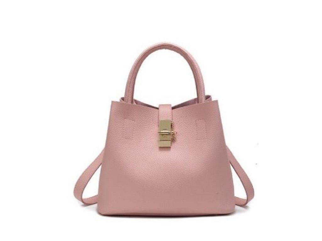 Stylová dámská kabelka taška do ruky červená černá a růžová barva na výběr  ... c29fbf9d47b