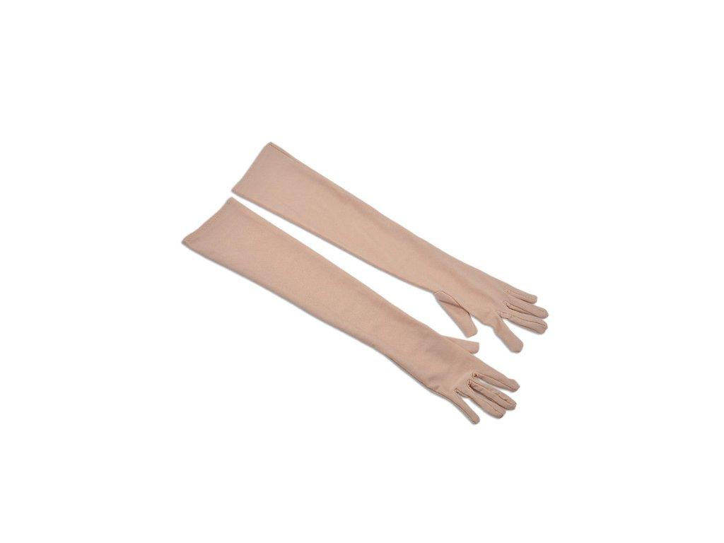 4de6c8ffc8d cwefvsdfo fredf qedwsd sdfsfdf Saténové plesové dlouhé dámské rukavice na  ples k šatům bílé
