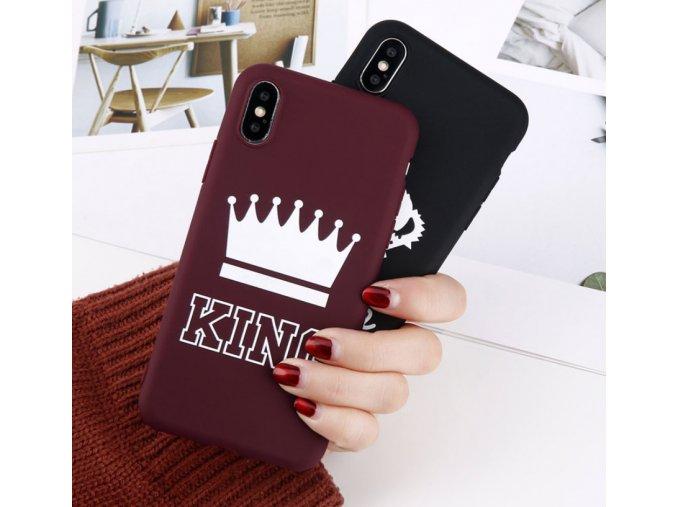 Kryt King na iPhone- černá, zelená