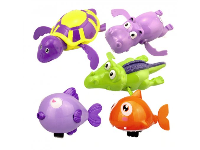 Pro děti- plavající zvířátka do vody