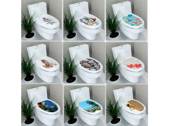 Dekorace- Nálepky na wc