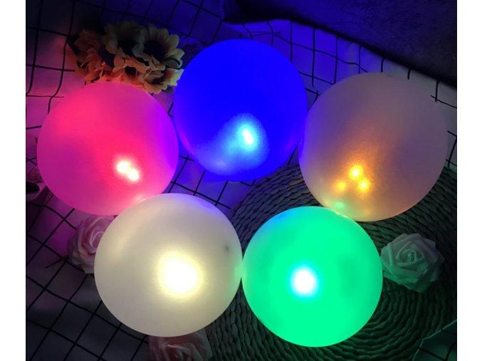 Dekorace- LED světla do balonků 10 ks/ set- svatba, oslavy. narozeniny