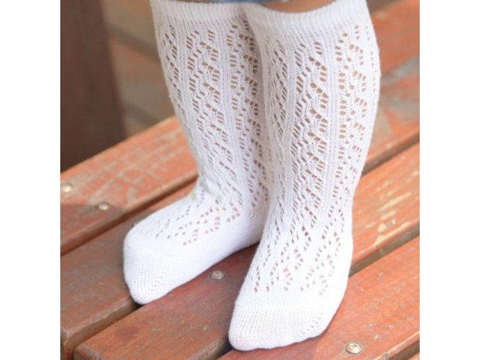 Dívčí dětské podkolenky, dlouhé ponožky- více barev