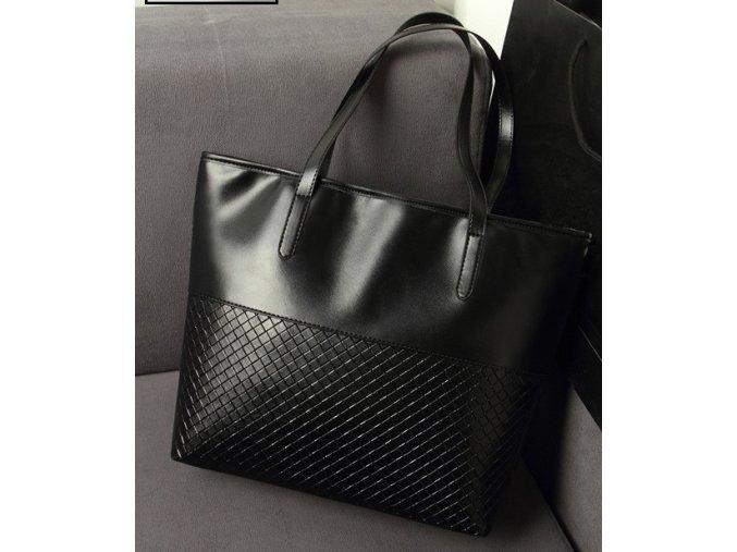 Dámská kabelka přes rameno černá