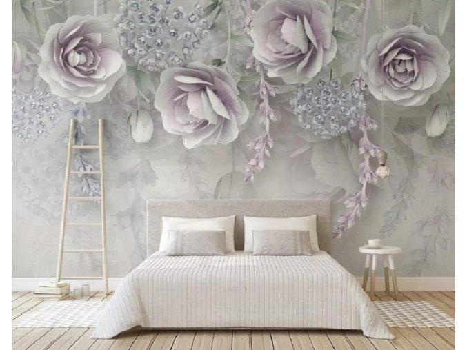 Tapety na zeď- luxusní samolepící tapeta dekorace AKCE