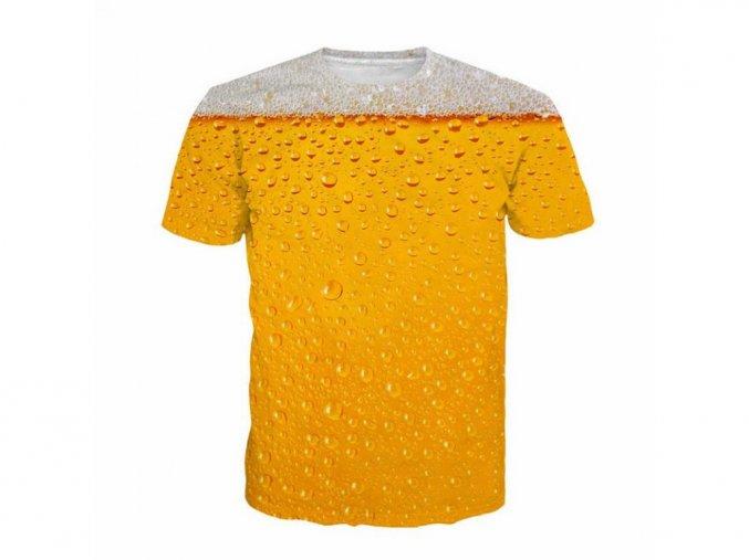 Pánské vtipné tričko s pivem