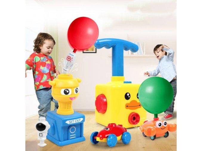 Hračky - hračky pro děti - balonky - nafukování balónků - zábavná dětská hra na nafukování balónků - vánoční dárek