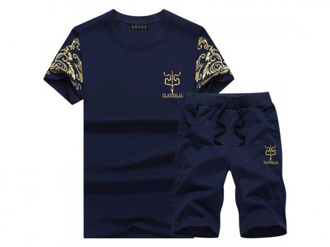 Pánská souprava tričko a kraťasy