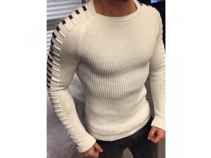 Pánský luxusní svetr pulovr