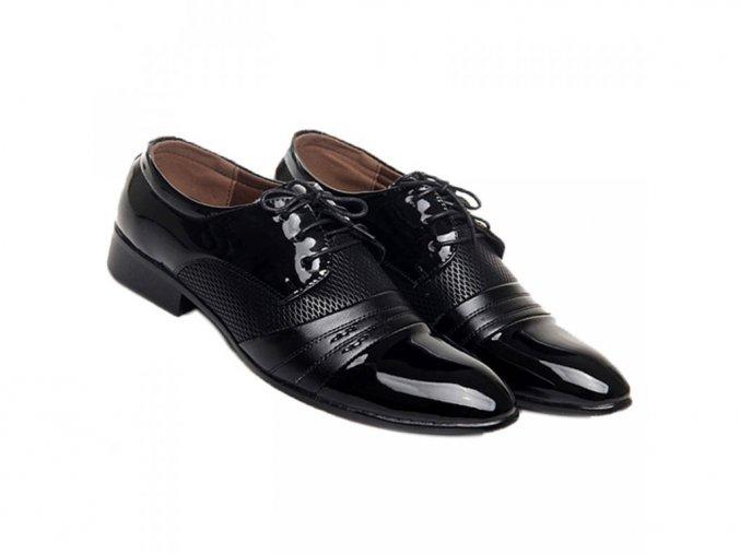 Pánské společenské boty mokasíny