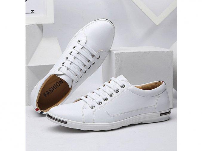 Pánské bílé boty