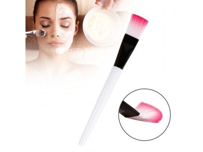 Kosmetika - silikonové štětce na nanášení krémů a masek - maska - dárek pro ženu