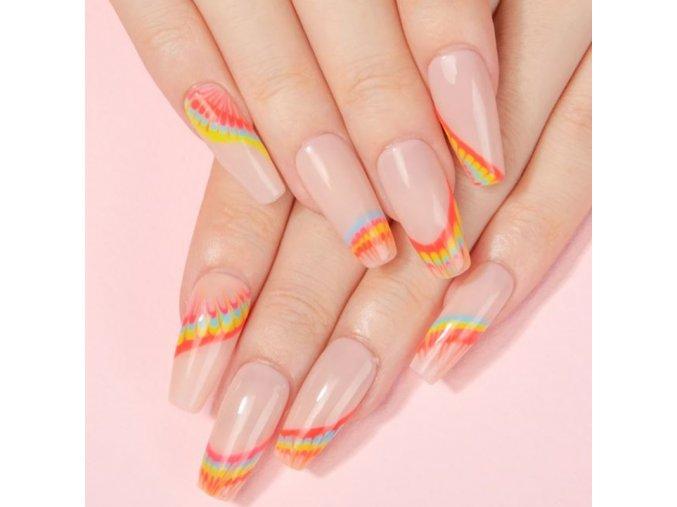 Nehty - lak - gelové nehty - velmi kvalitní gelový lak na nehty více barev -  dárek pro ženu - modeláž nehtů
