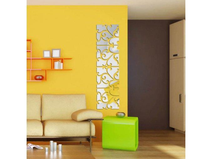 Dekorativní samolepky do interiéru na zeď- zrcadlo