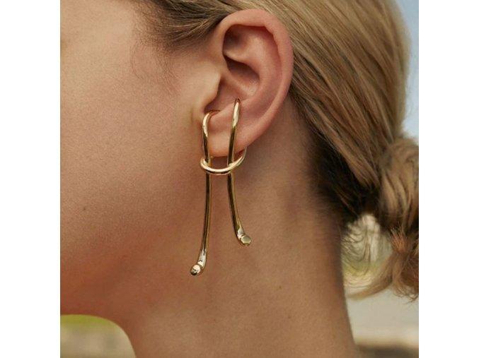 Šperky - náušnice - zajímavě řešené náušnice - dárky pro ženu