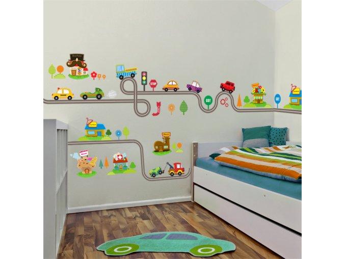 Dekorativní dětská samolepka na zeď - 80% (Typ 2)