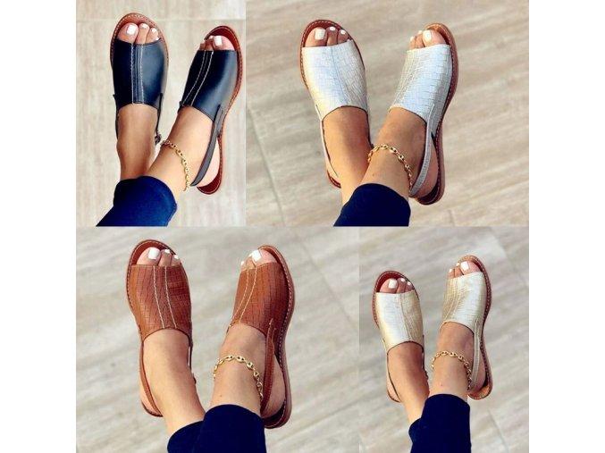 Boty - pantofle - dámské boty -  dámské pohodlné nazouvací pantofle v koženkovém stylu - dámské pantofle - výprodej skladu