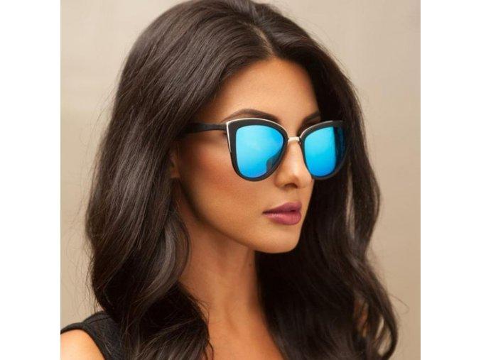 Brýle - dámské módní velké sluneční brýle ve více barvách -  sluneční brýle - dárky pro ženu