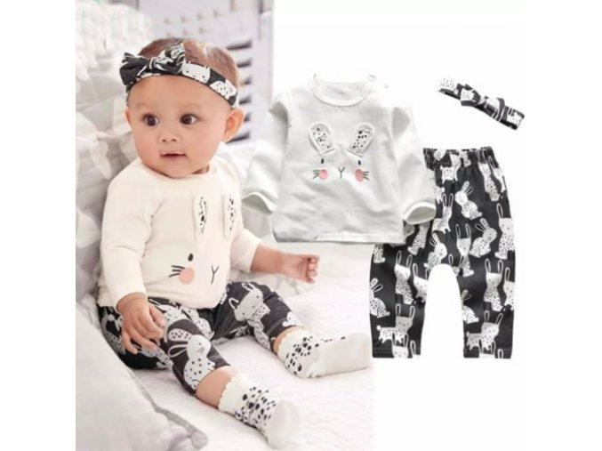 Dětské oblečení - krásný sety pro holčičku v různých variantách - tričko - legíny - výprodej slevy