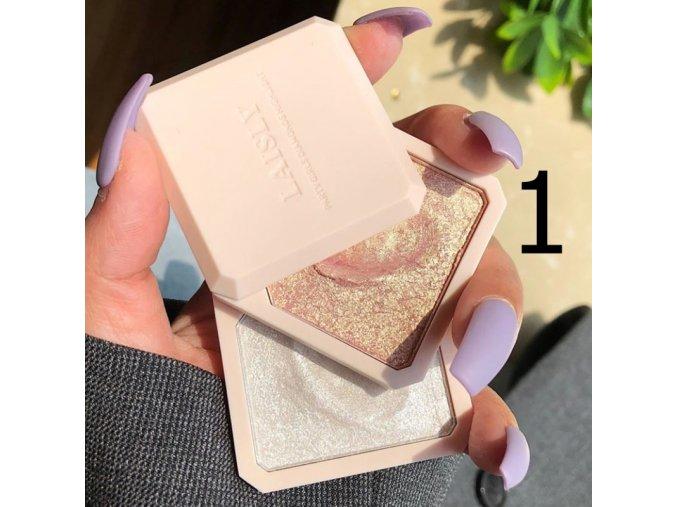 Kosmetika - make up - krásný rozjasňovač s vysokým pigmentem - dárky pro ženu