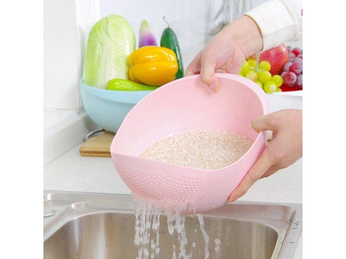 Praktické sítko na rýži - SLEVA 60% (Barva Růžová)