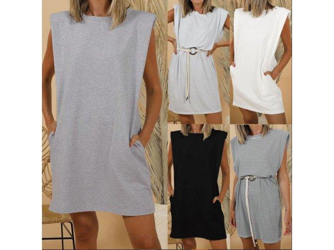 Dámské oblečení - šaty - dámské pohodlné sportovní šaty - dámské šaty - letní šaty