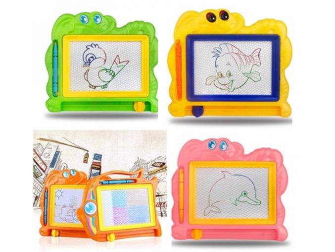 Retro kreslící tabulka pro děti