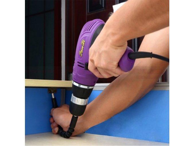 Praktická flexibilní násada na vrtačku - 295mm