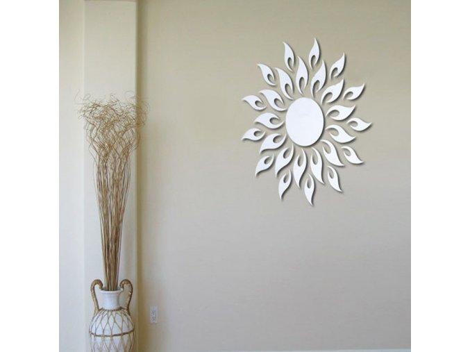 Akrylová samolepící dekorace na zeď - SLEVA 60% (Barva Zlatá)