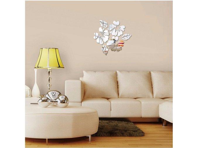 Moderní samolepící dekorace - různé barvy - 45 x 45 cm - SLEVA 70% (Barva Zlatá)