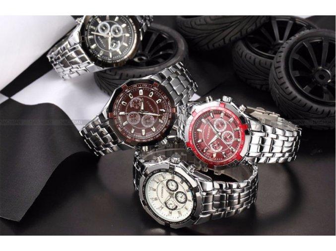 Klasické pánské hodinky - různé typy - SLEVA 70% (Typ 4)