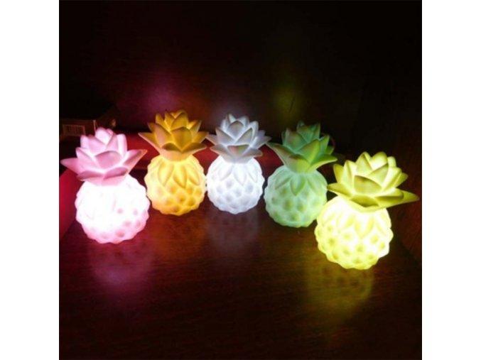 Dětské světlo ve tvaru ananasu - SLEVA 50% (Barva Žlutá)