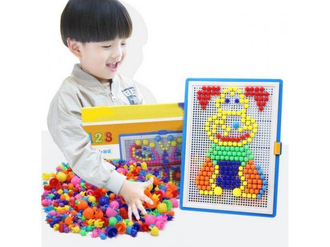 Dětské mozaikové puzzle - 296ks