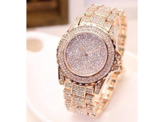 Luxusní dámské hodinky - různé barvy - SLEVA 30% (Typ 3)