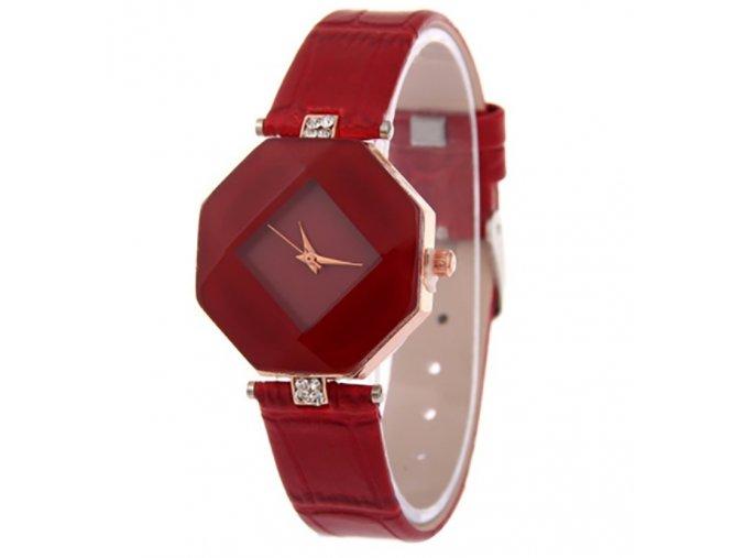 Luxusní dámské hodinky - SLEVA 25% (Barva Vínová)